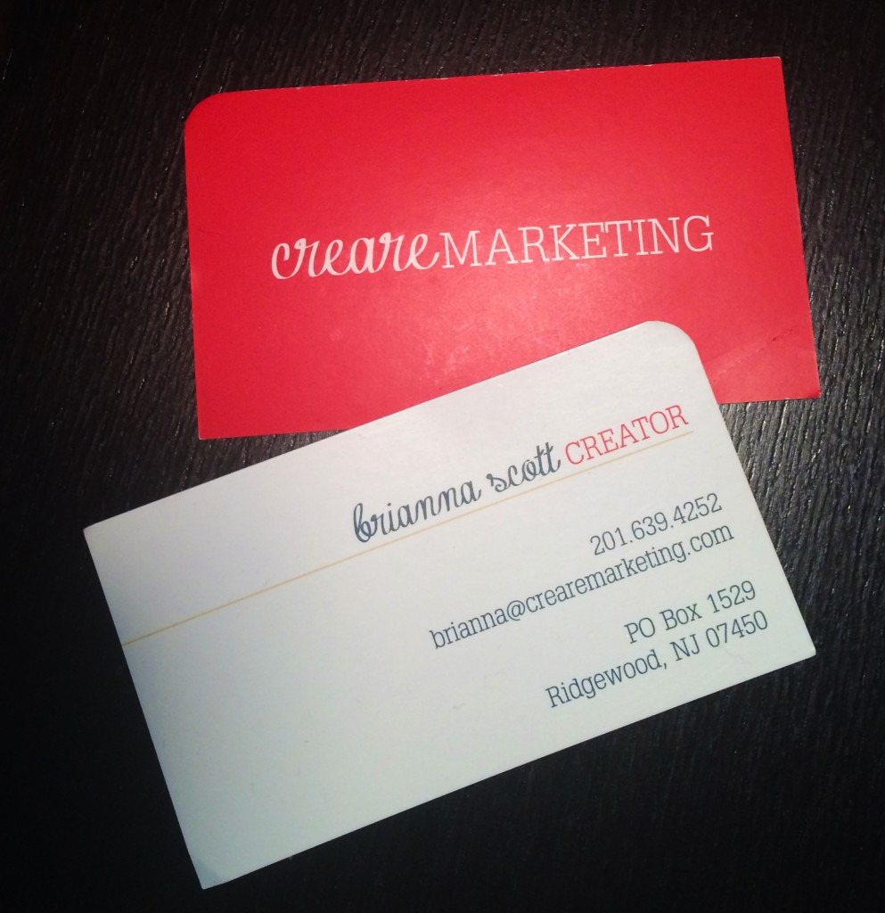 Creare Marketing Business Cards