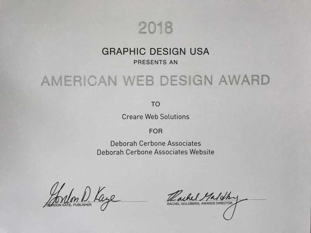 American Web Design Award