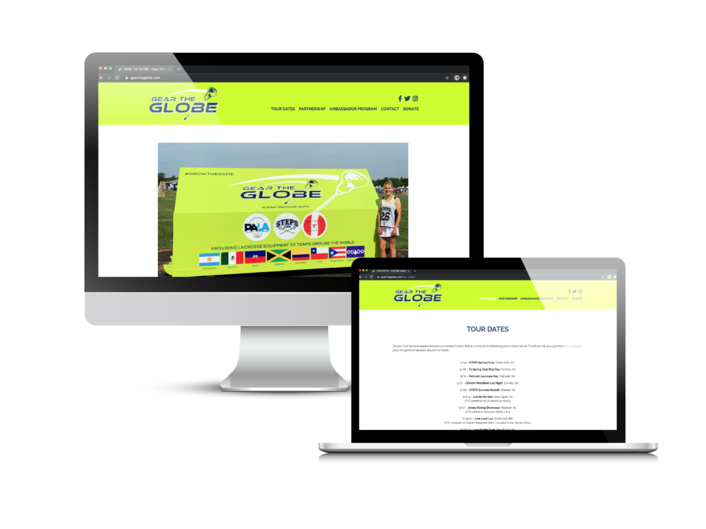 Gear the Globe a Non-Profit Website Solution Case Study